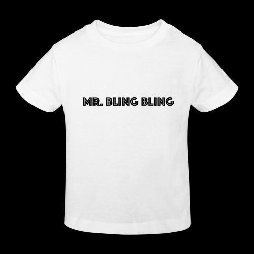 bling bling - Kinder Bio-T-Shirt