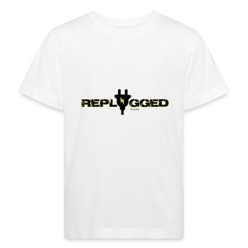 Replugged Singles - Clip Art Black - Kids' Organic T-Shirt