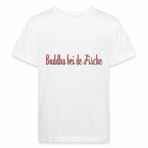 buddhabeidefische rot - Kinder Bio-T-Shirt
