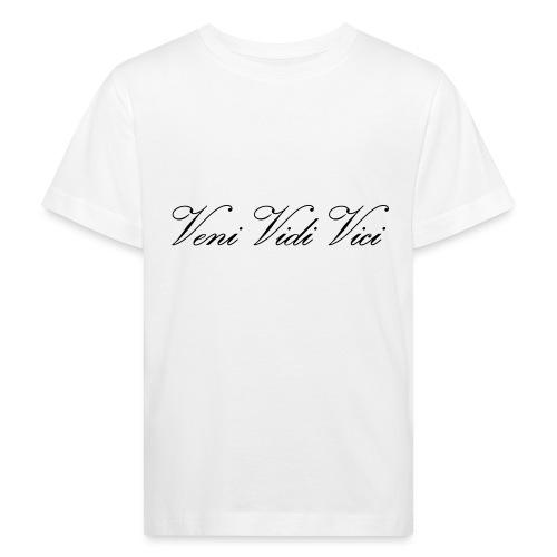 Veni Vidi Vici - Lasten luonnonmukainen t-paita