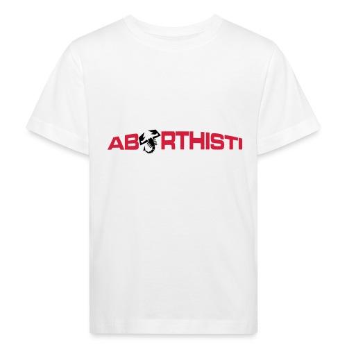 abarthisti no url - Økologisk T-skjorte for barn
