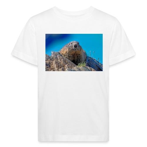 Murmeltier - Kinder Bio-T-Shirt