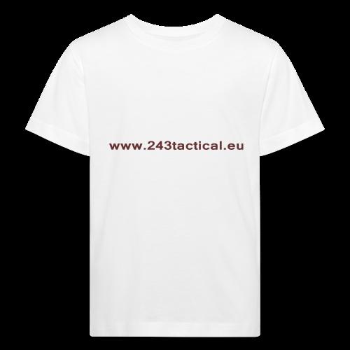 .243 Tactical Website - Kinderen Bio-T-shirt