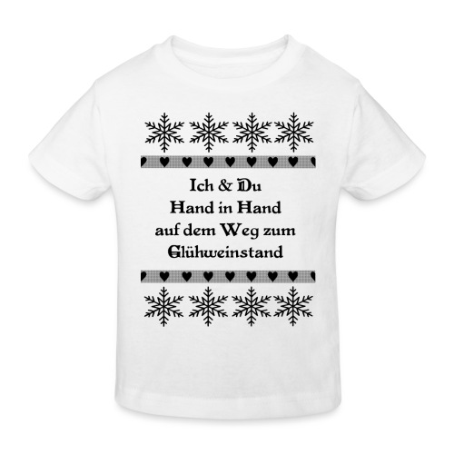 Spruch Lustig Weihnachten Liebe Geschenk - Kinder Bio-T-Shirt