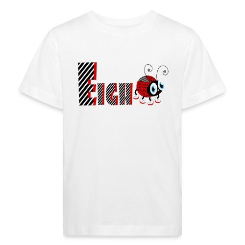 8. Jahr-Familien-Marienkäfer-T-Shirts Geschenk-Tochter - Kinder Bio-T-Shirt