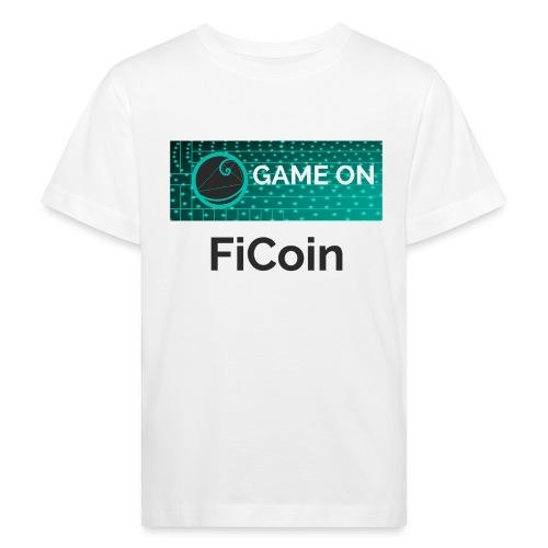 GameOn Dark Tekst - Kinderen Bio-T-shirt