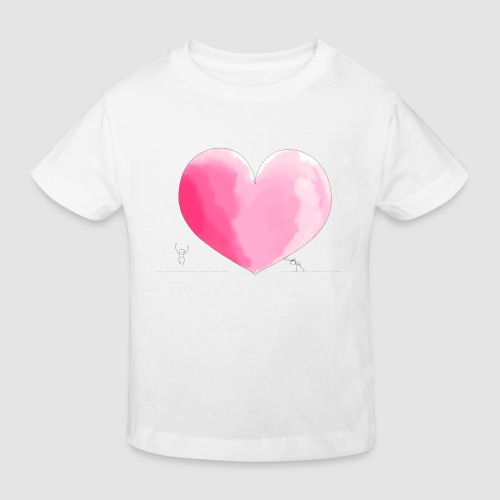 spread your love - Kinder Bio-T-Shirt