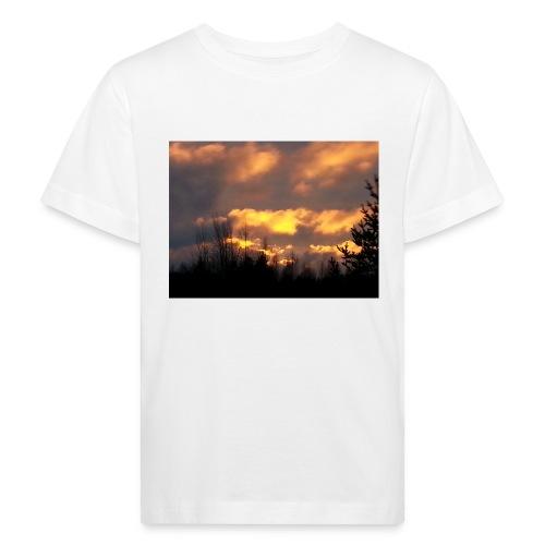 Iltarusko - Lasten luonnonmukainen t-paita