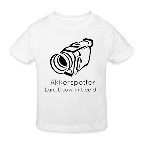 Logo akkerspotter - Kinderen Bio-T-shirt