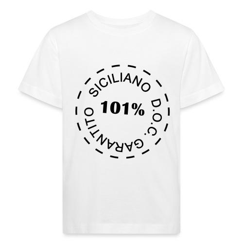 siciliano doc - Maglietta ecologica per bambini