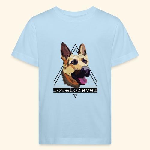 SHEPHERD LOVE FOREVER - Camiseta ecológica niño