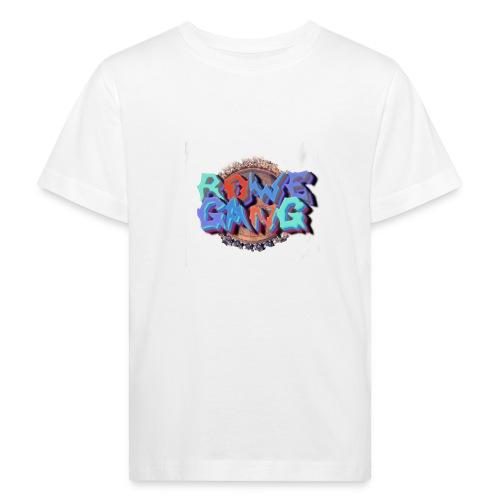 RoweGang Basic Logo - Lasten luonnonmukainen t-paita
