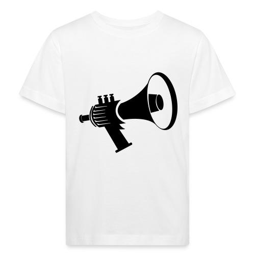 Tromptoeter René van Densen zwart - Kinderen Bio-T-shirt