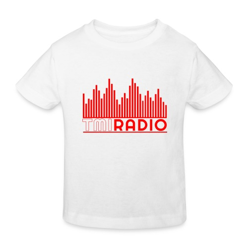 NEW TMI LOGO RED AND WHITE 2000 - Kids' Organic T-Shirt
