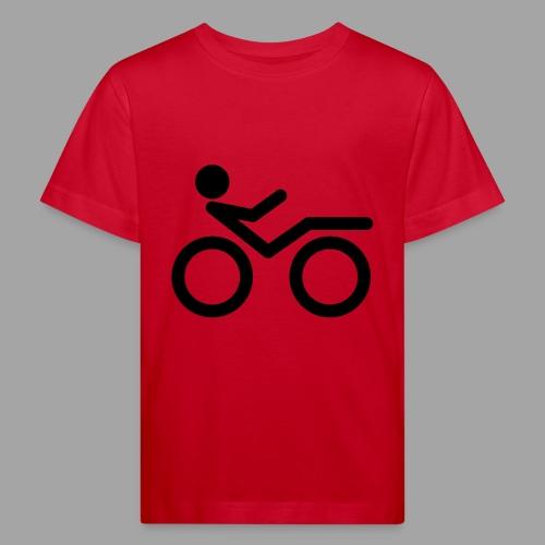 Recumbent bike black 2 - Lasten luonnonmukainen t-paita