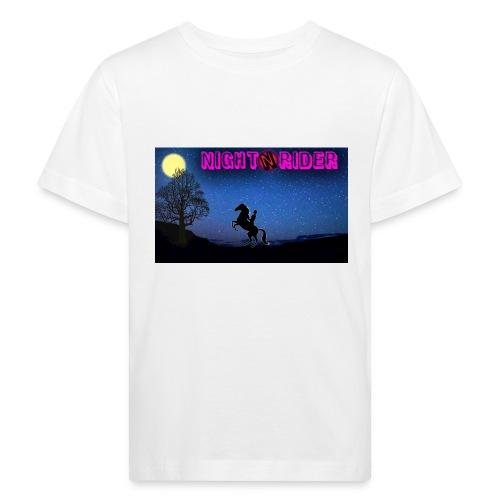 nightrider merch - Organic børne shirt