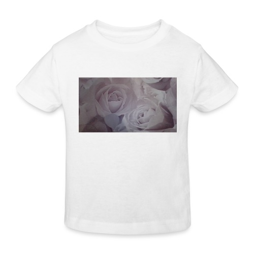 perfect pink rose's - Kids' Organic T-Shirt