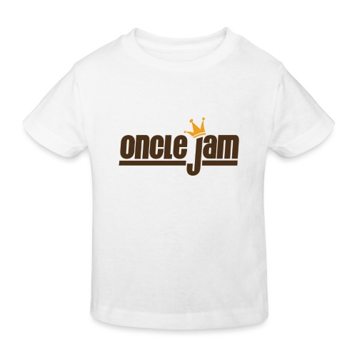 Oncle Jam horizontal brun - T-shirt bio Enfant