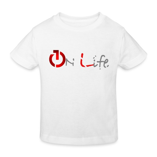 OnLife Logo - T-shirt bio Enfant