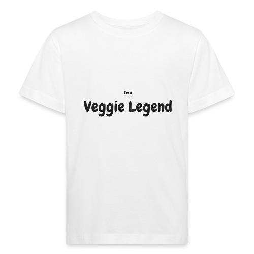 I'm a Veggie Legend - Kids' Organic T-Shirt