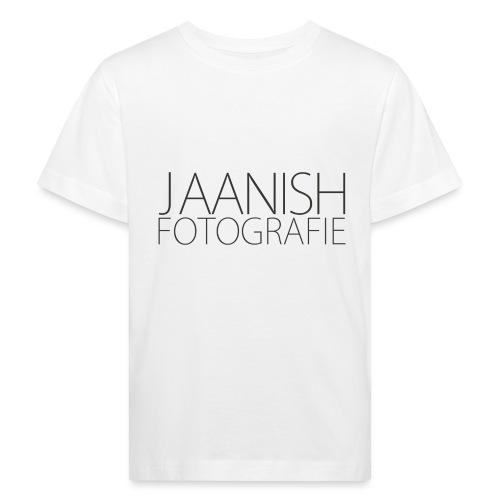 LOGO JAANISH PNG - Kinderen Bio-T-shirt