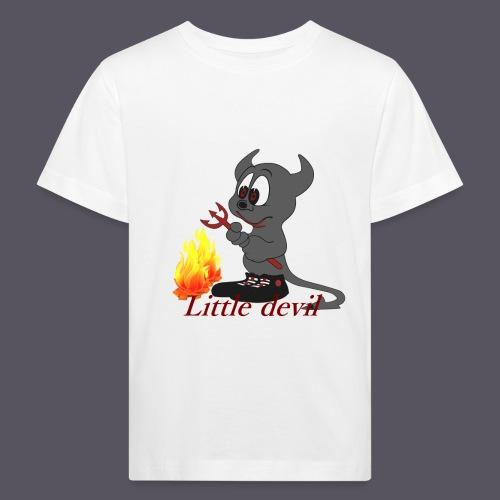 lustiges Teufelchen Little devil - Kinder Bio-T-Shirt