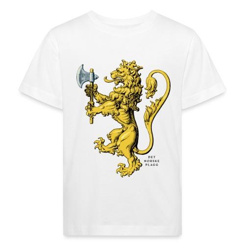 Den norske løve i gammel versjon - Økologisk T-skjorte for barn
