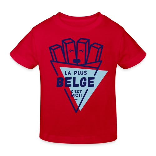La+Belge - T-shirt bio Enfant