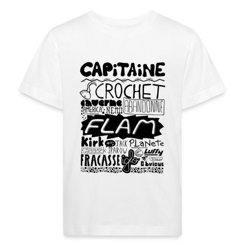 capitaine - T-shirt bio Enfant