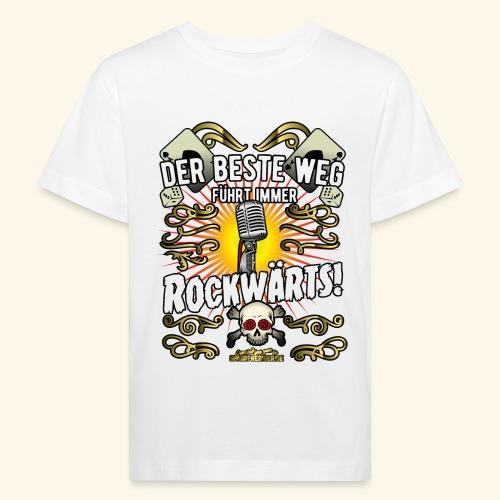 Rock Music Shirt ROCKWÄRTS - Kinder Bio-T-Shirt