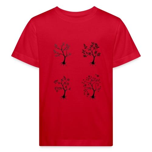 Vuodenajat - Lasten luonnonmukainen t-paita