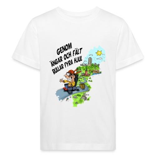 rullar fyra hjul - Ekologisk T-shirt barn