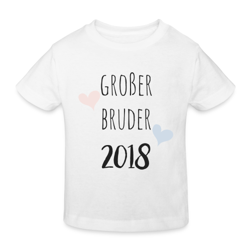 Großer Bruder 2018 - Kinder Bio-T-Shirt