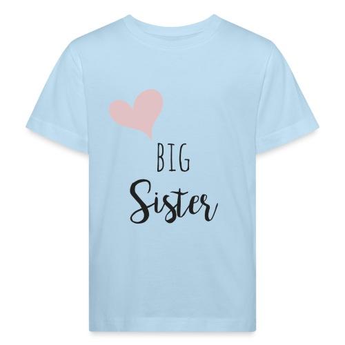 big sister - Kinder Bio-T-Shirt