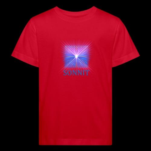 Sonnit Blue Transform Pack, FADING SQUARE - Kids' Organic T-Shirt