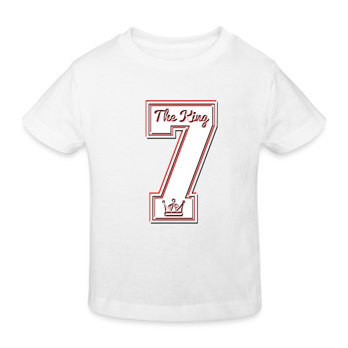 Collection THE KING 7 - T-shirt bio Enfant