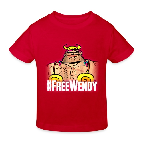 #FreeWendy - Kids' Organic T-Shirt