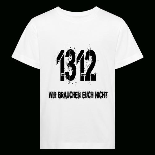 1312 BOSS - Kinder Bio-T-Shirt