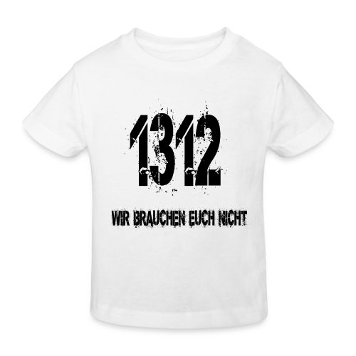 1312 BOSS - Kinder Bio-T-Shirt