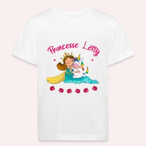 Princesse Letty - T-shirt bio Enfant
