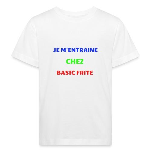 Basic Frite - T-shirt bio Enfant