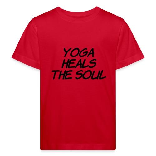 yoga - Kinderen Bio-T-shirt