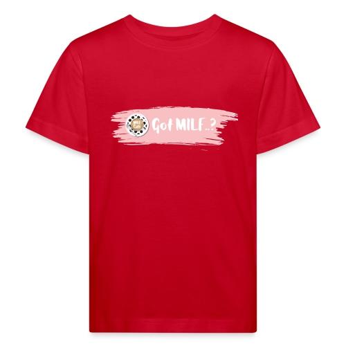 Got MILF Milfcafe Shirt Mama Muttertag - Kinder Bio-T-Shirt