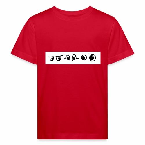 graffiti caracter augen - Kinder Bio-T-Shirt