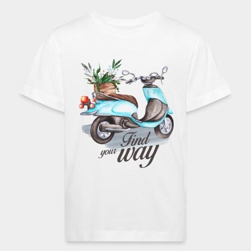 trouvez votre chemin dans la vie - T-shirt bio Enfant