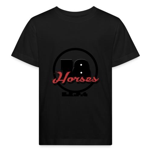18 Horses - NKPG (Black) - Ekologisk T-shirt barn
