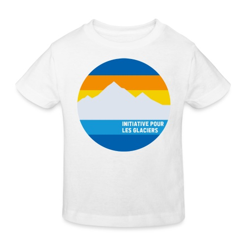 Initiative pour les glaciers - Kinder Bio-T-Shirt
