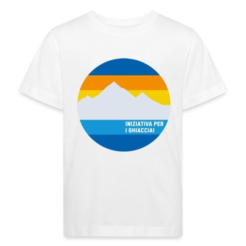 Iniziativa per i ghiacciai - Maglietta ecologica per bambini