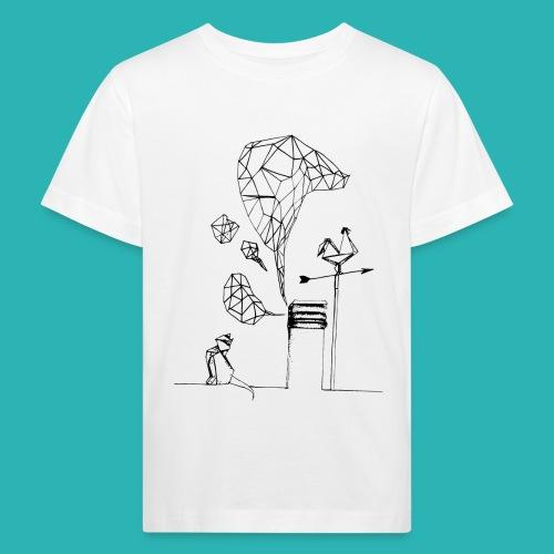 Carta_gatta-png - Maglietta ecologica per bambini