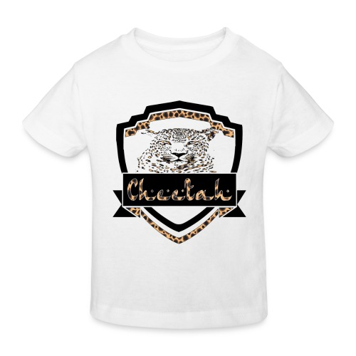 Cheetah Shield - Kids' Organic T-Shirt